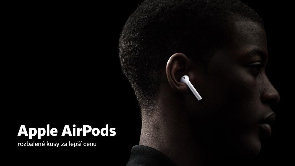 Apple AirPods - rozbalené