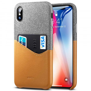 ESR Metro Case - Apple iPhone Xs Max Hnědé