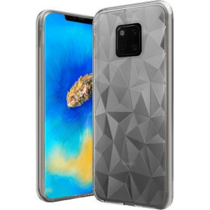 Pouzdro FORCELL PRISM pro Huawei Mate 20 Pro transparentní