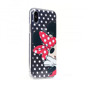 Silikónové pouzdro Minnie Mouse - Apple iPhone 7 / 8