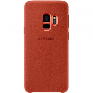 Samsung Alcantara Cover Red pro G960 Galaxy S9 (EU Blister)