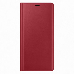Samsung Leather Wallet Cover Red pro N960 Galaxy Note9 (EU Blister)