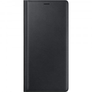 Samsung Leather Wallet Cover Black pro N960 Galaxy Note9 (EU Blister)