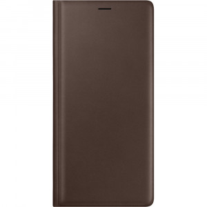 Samsung Leather Wallet Cover Brown pro N960 Galaxy Note9 (EU Blister)