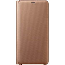 Samsung Wallet Case Gold pro Galaxy A7 2018 (EU Blister)