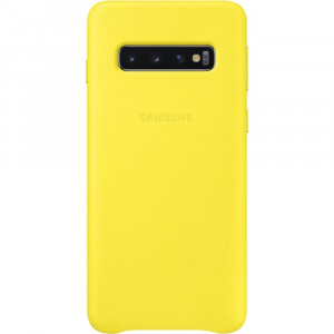 Samsung Leather Cover Yellow pro G973 Galaxy S10 (EU Blister)