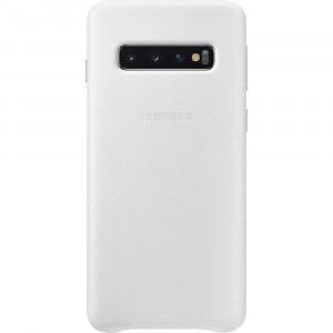 Samsung Leather Cover White pro G973 Galaxy S10 (EU Blister)