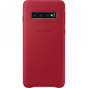 Samsung Leather Cover Red pro G973 Galaxy S10 (EU Blister)