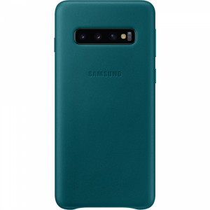 Samsung Leather Cover Green pro G973 Galaxy S10 (EU Blister)