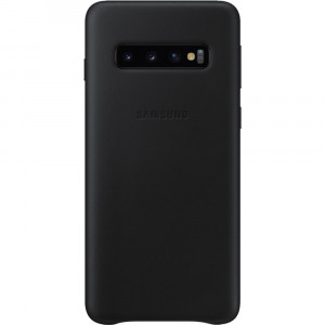 Samsung Leather Cover Black pro G973 Galaxy S10 (EU Blister)
