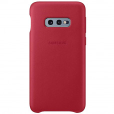 Samsung Leather Cover Green Red G970 Galaxy S10e (Rozbaleno)