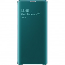 Samsung Clear View Cover Green pro G975 Galaxy S10+ (EU Blister)