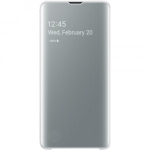 Samsung Clear View Cover White pro G973 Galaxy S10 (EU Blister)