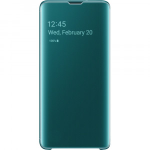 Samsung Clear View Cover Green pro G973 Galaxy S10 (EU Blister)