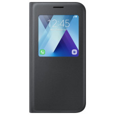 A5 2017 S View Standing Cover Black (D63)