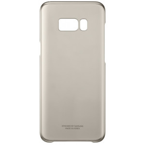 S8+ Clear Cover Gold