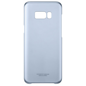 S8+ Clear Cover Blue