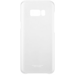 S8+ Clear Cover Silver