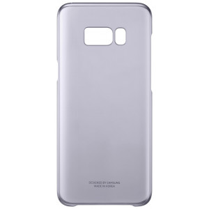 S8+ Clear Cover Violet
