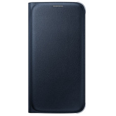 S6 Flip Wallet Cover Black (D65)