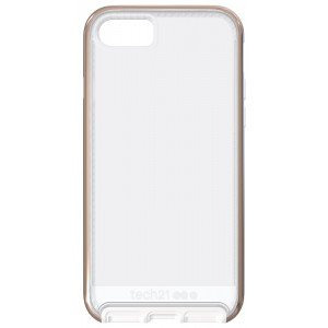 tech21 Evo Elite pro Apple iPhone 7 / 8 Clear Polished Rose Gold