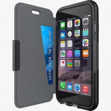 Tech21 Evo Wallet Pouzdro flip Apple iPhone 6/6S Black A 47