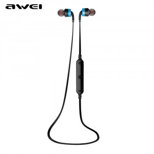 Wirelles Bluetooth Eearphones AWEI A960BL blue