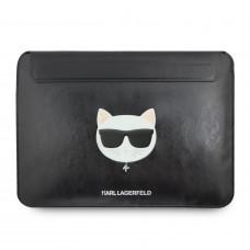 "Karl Lagerfeld Kožené Choupette Sleeve Pouzdro pro MacBook 13"" Air/Pro"