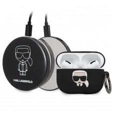 Karl Lagerfeld Bundle Iconic Pouzdro pro Airpods Pro + Power Bank