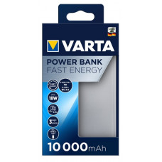VARTA Power Bank Fast Energy 10000mAh Silver