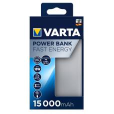 VARTA Power Bank Fast Energy 15000mAh Silver