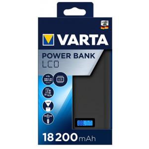 VARTA Power Bank LCD Dual USB 18200mAh