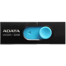 ADATA UV220 USB Flash Drive 32GB USB 2.0 černá/modrá