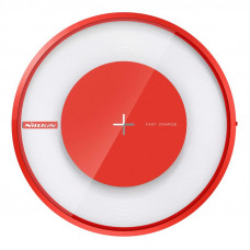 Nillkin Magic Disc 4 Rychlá Bezdrátová nabíječka Red