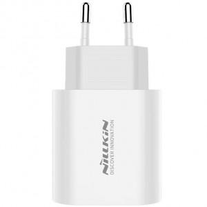 Nillkin Bijou 18W PD USB Cestovní Nabíječ White