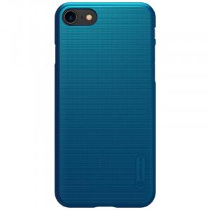 Nillkin Super Frosted Zadní Kryt pro iPhone 7 / 8 / SE (2020) Peacock Blue