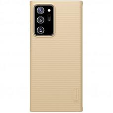 Nillkin Super Frosted Zadní Kryt pro Samsung Galaxy Note20 Ultra 5G Golden