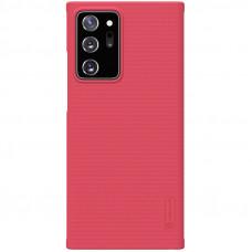 Nillkin Super Frosted Zadní Kryt pro Samsung Galaxy Note20 Ultra 5G Bright Red