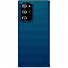 Nillkin Super Frosted Zadní Kryt pro Samsung Galaxy Note20 Ultra 5G Peacock Blue