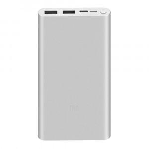 Xiaomi Mi PowerBank 3 Fast Charge 10000mAh Silver (EU Blister)