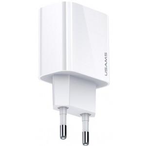 USAMS CC118 T34 USB 20W Fast Nabíječka White