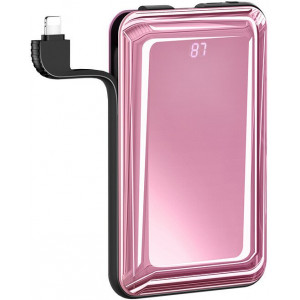 USAMS US-CD107 Dual USB PB40 Power Bank 8000mAh Pink