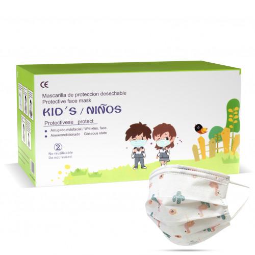 DongYuan detská rouška jednorázová třívrstvá 10 ks (chlapecká)