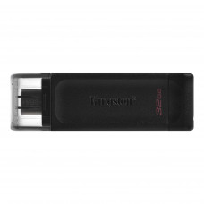 Kingston DataTraveler 70 USB Type-C™ Flash Drive 32GB Black