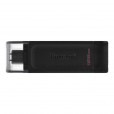 Kingston DataTraveler 70 USB Type-C™ Flash Drive 128GB Black