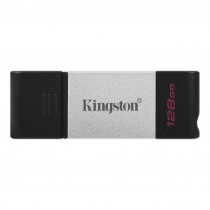 Kingston DataTraveler 80 USB Flash Drive 128GB Black