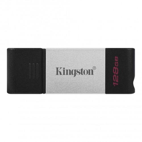 Kingston DataTraveler 80 USB Flash Drive 128GB Black