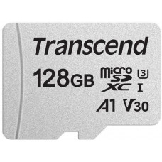 Transcend ® 300S microSDXC™ Card 128GB V30 UHS-I U3 A1 (EU Blister)