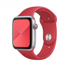 Tactical 498 Silikonový Řemínek pro Apple Watch 42-44mm Red
