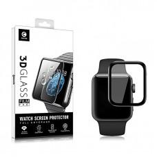 Mocolo 5D Tvrzené Sklo Black pro Apple iWatch 4/5/6/SE 40mm